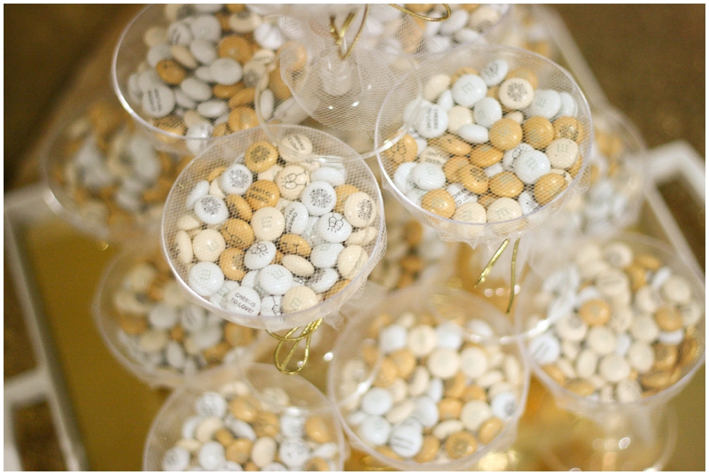 wedding favors featuring My M&M's - gold Wedding Favor Idea