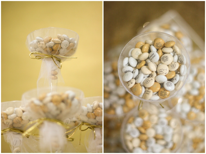 wedding favors featuring My M&M's - pretty Wedding Favor Idea