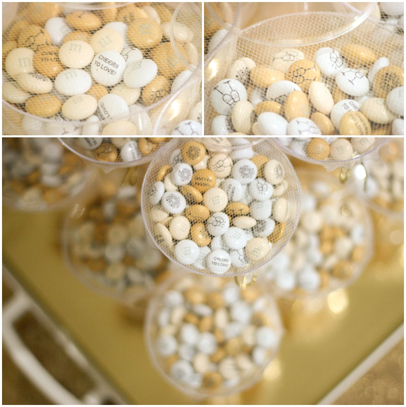 wedding favors featuring My M&M's - simple Wedding Favor Idea
