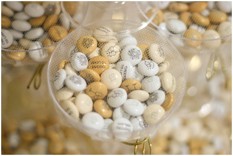 wedding favors featuring My M&M's - Cute Wedding Favor Idea