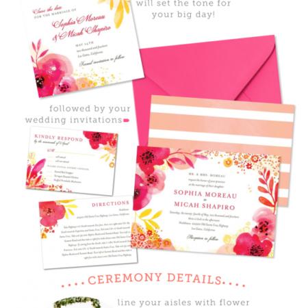 Wedding Paper Divas Garden Party Wedding Inspiration