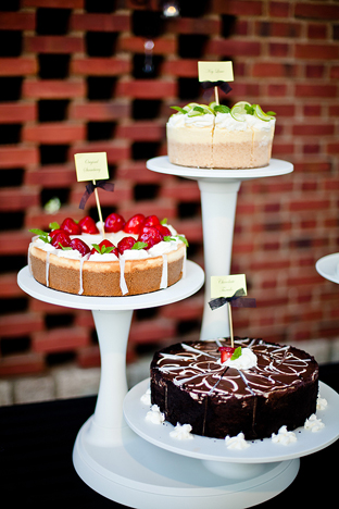 dessert buffet for a wedding