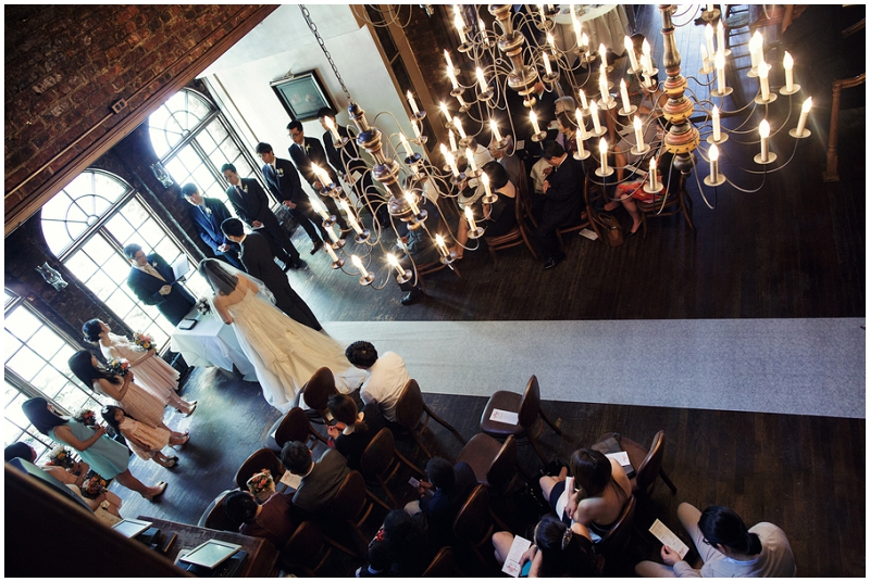 intimate indoor wedding venue
