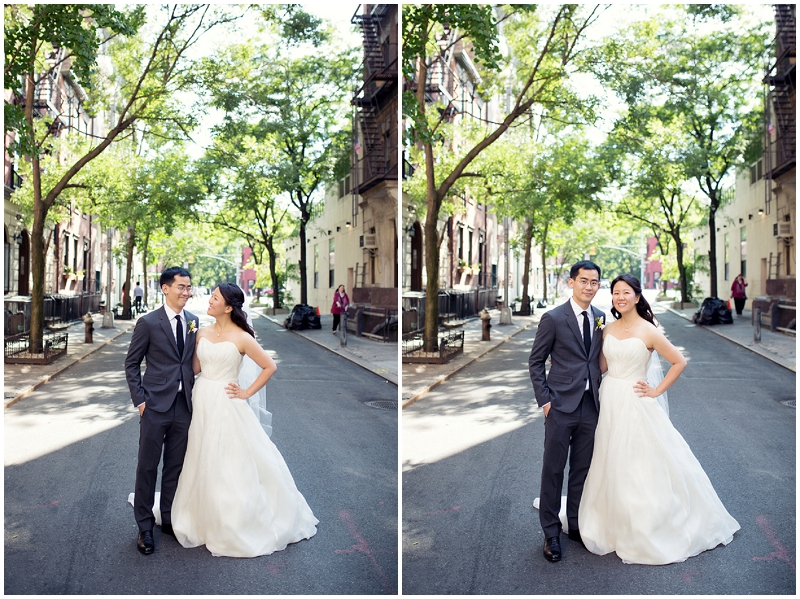 outdoor bride and groom photos