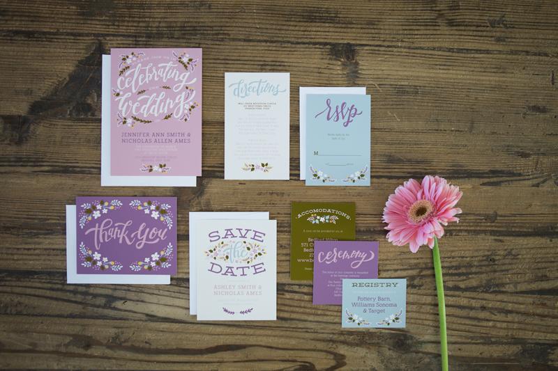 basic invite wedding invitattion suite