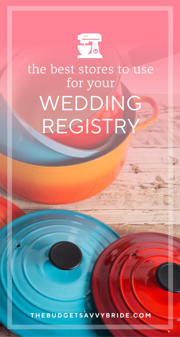 best wedding registry stores