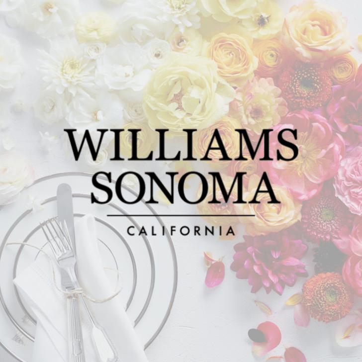 williams sonoma wedding registry