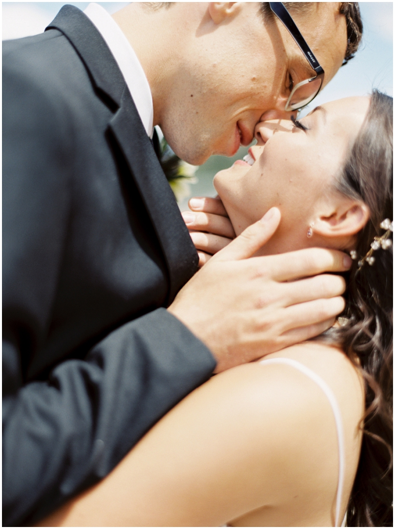 Intimate bridal photos