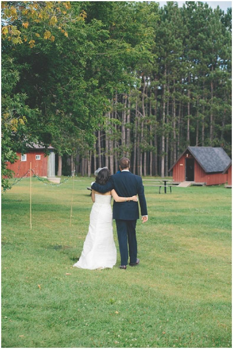 outdoor Canadian wedding venue