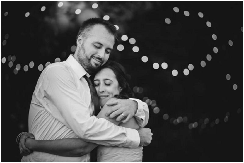 twinkle lights wedding recption