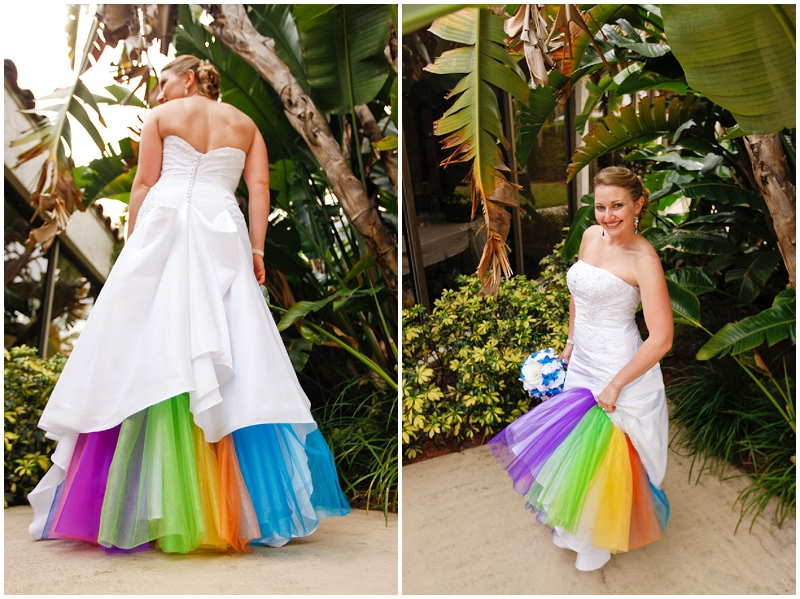 rainbow bustle