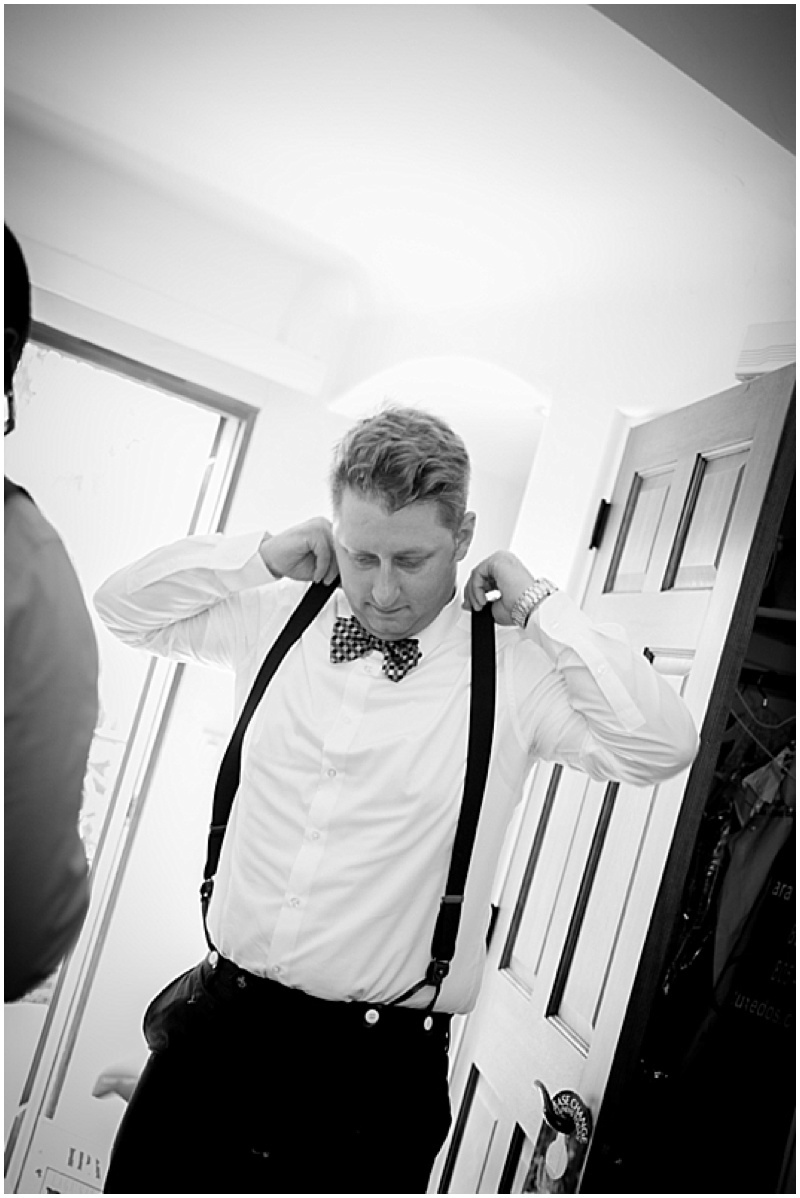 groom getting ready photo