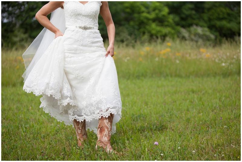 wedding bridal boots