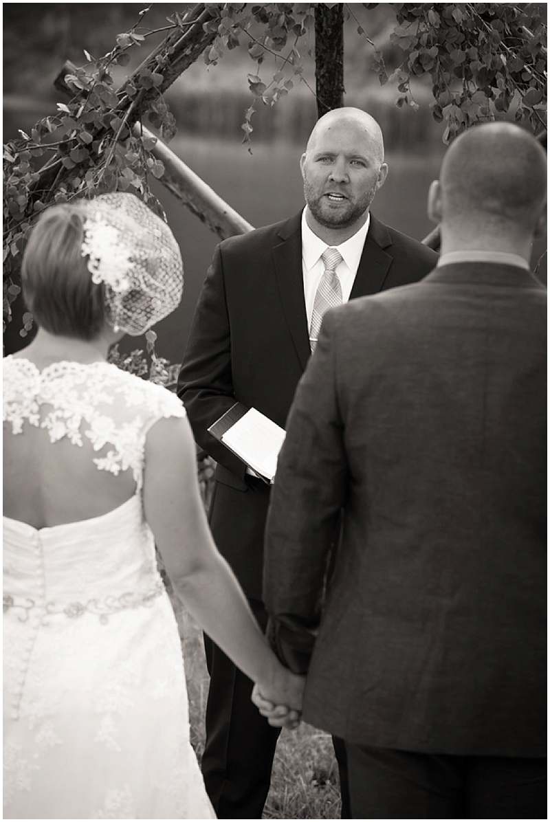 colorado wedding ceremony