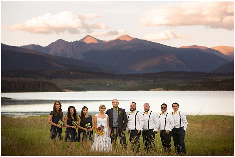 wedding party colorado