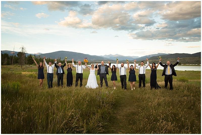 wedding guests photo