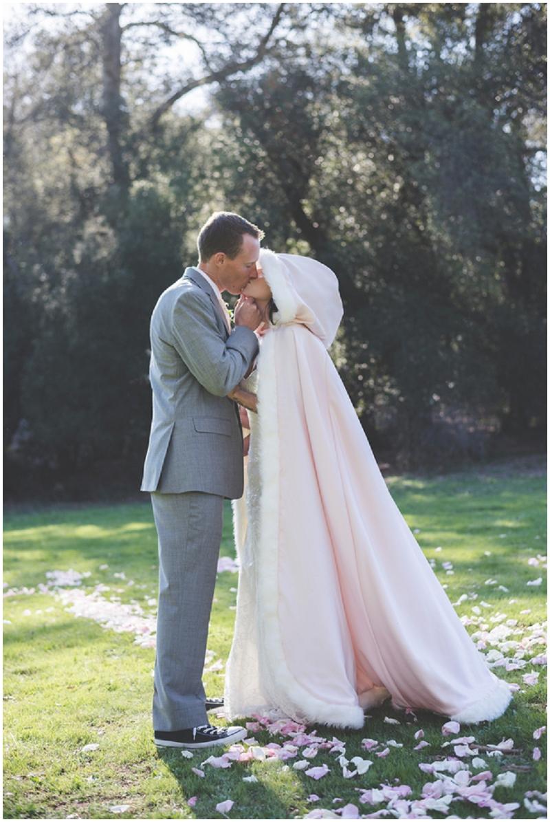 bridal wedding cape