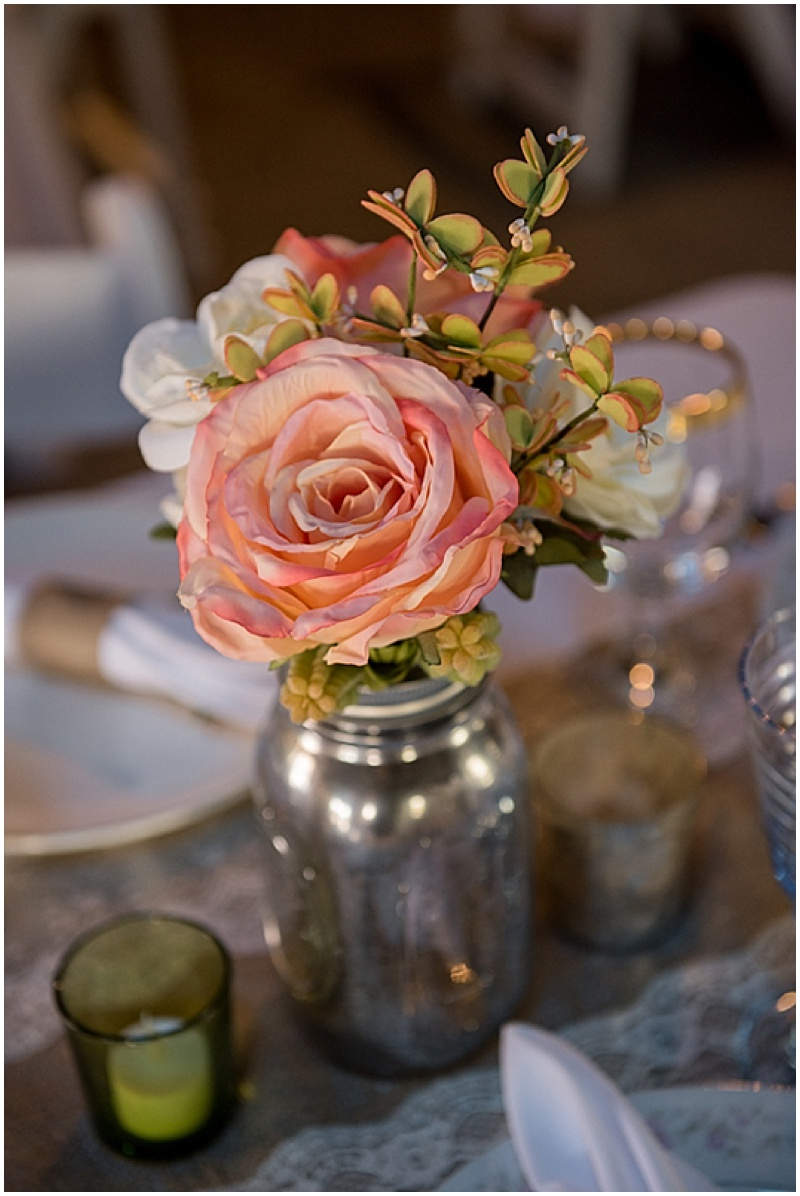 roses wedding reception