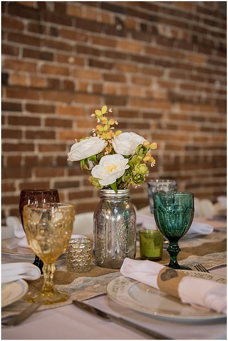 mismatched wedding china