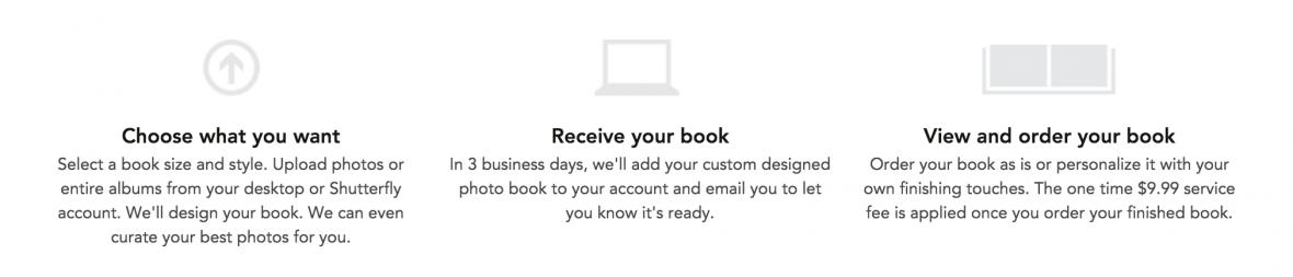 shutterfly make my book steps