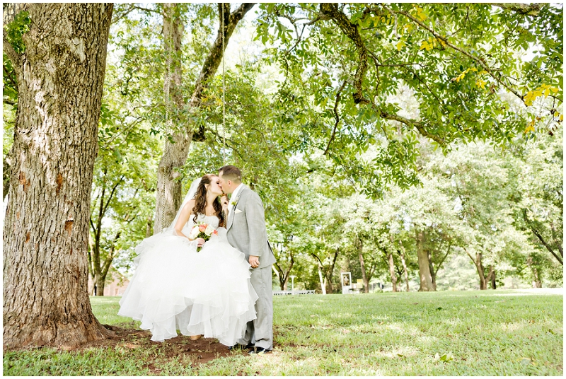 tree swing wedding photos