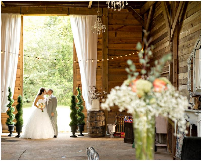 rustic wedding reception venue