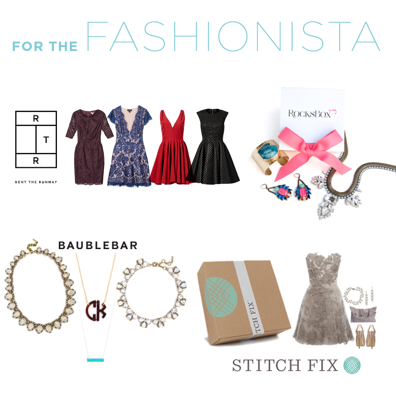 gift ideas for the fashionista - 2015 Gift Guide