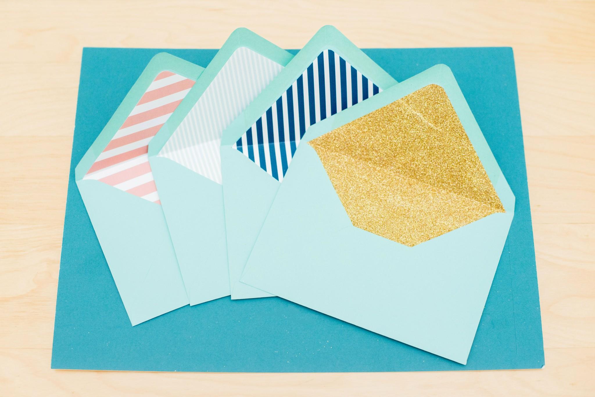 DIY Custom Envelope Liners