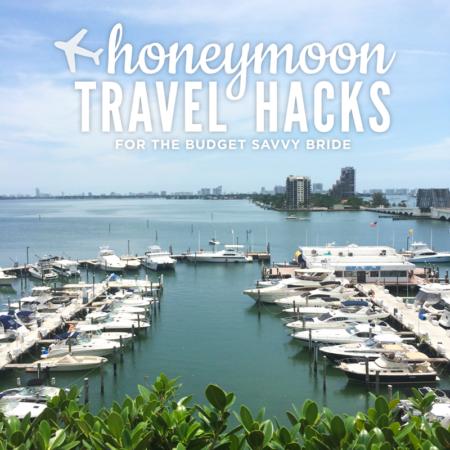 travel hacks for honeymoons
