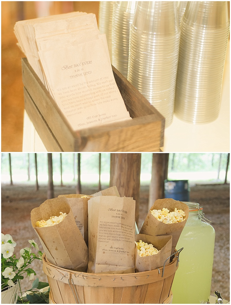 rustic wedding venue decor