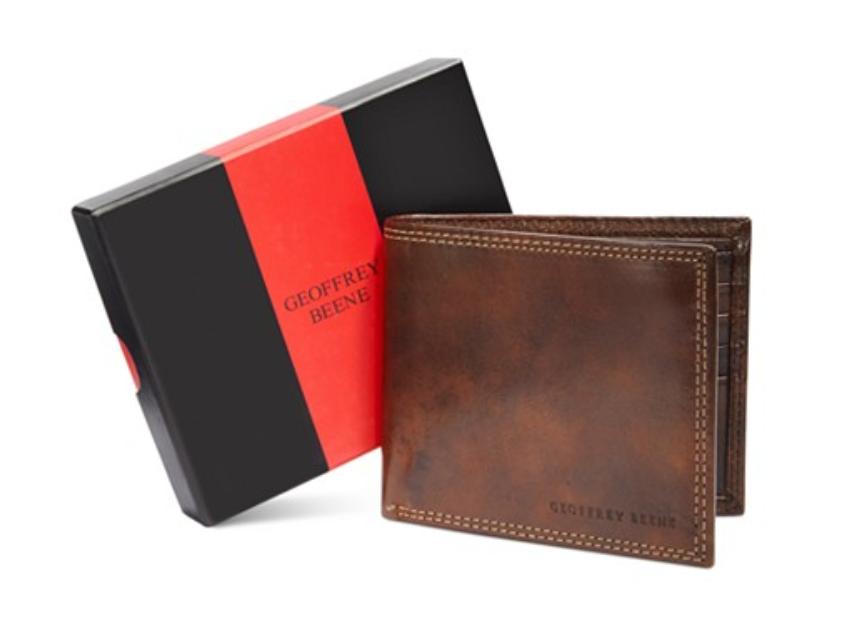 Geoffrey Beene Durham Bifold Gift-Boxed Wallet