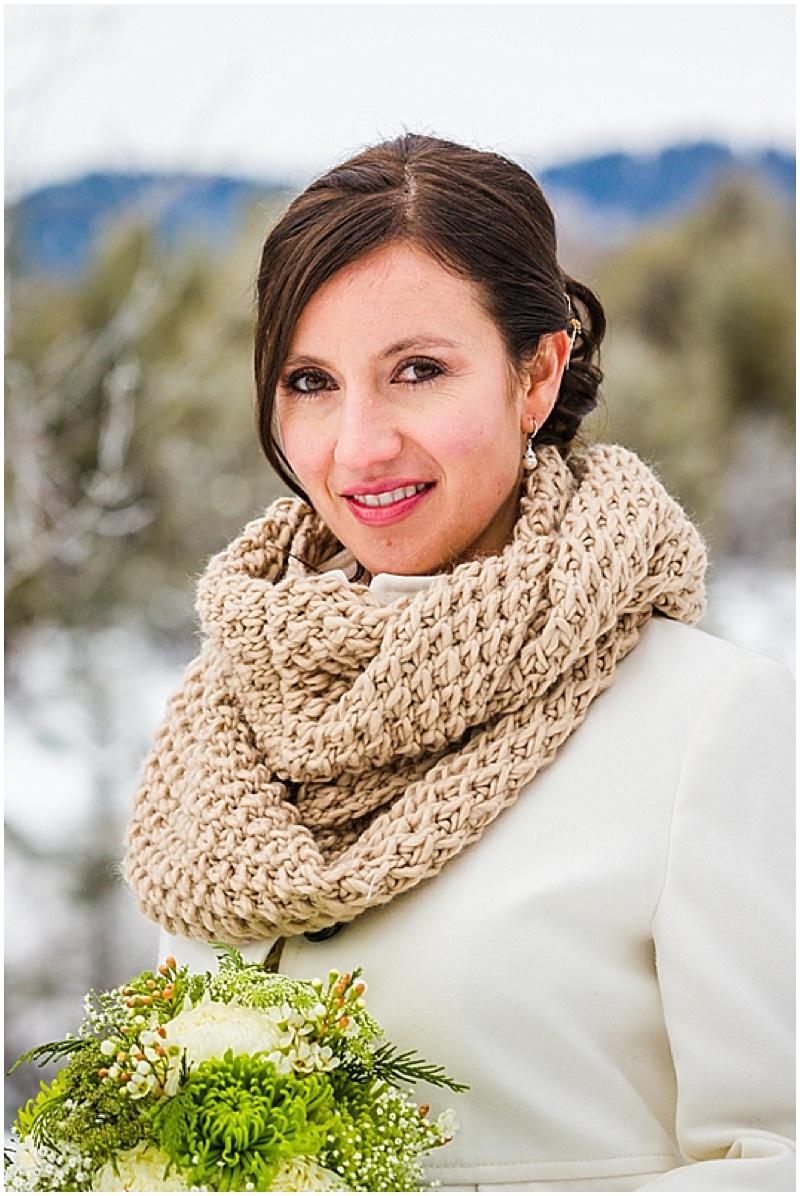 wedding bride scarf