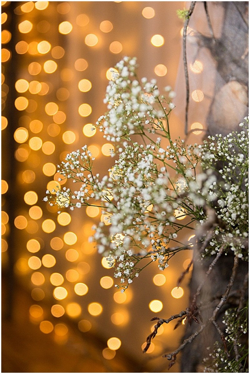 baby's breath accents