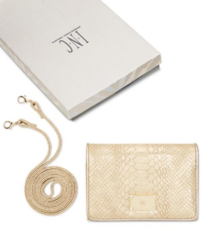 INC International Concepts Horizontal Envelope Wallet On A String