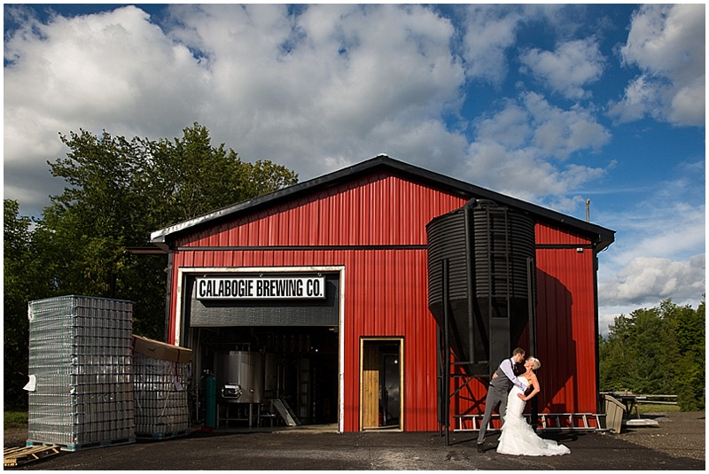 brewery wedding photos