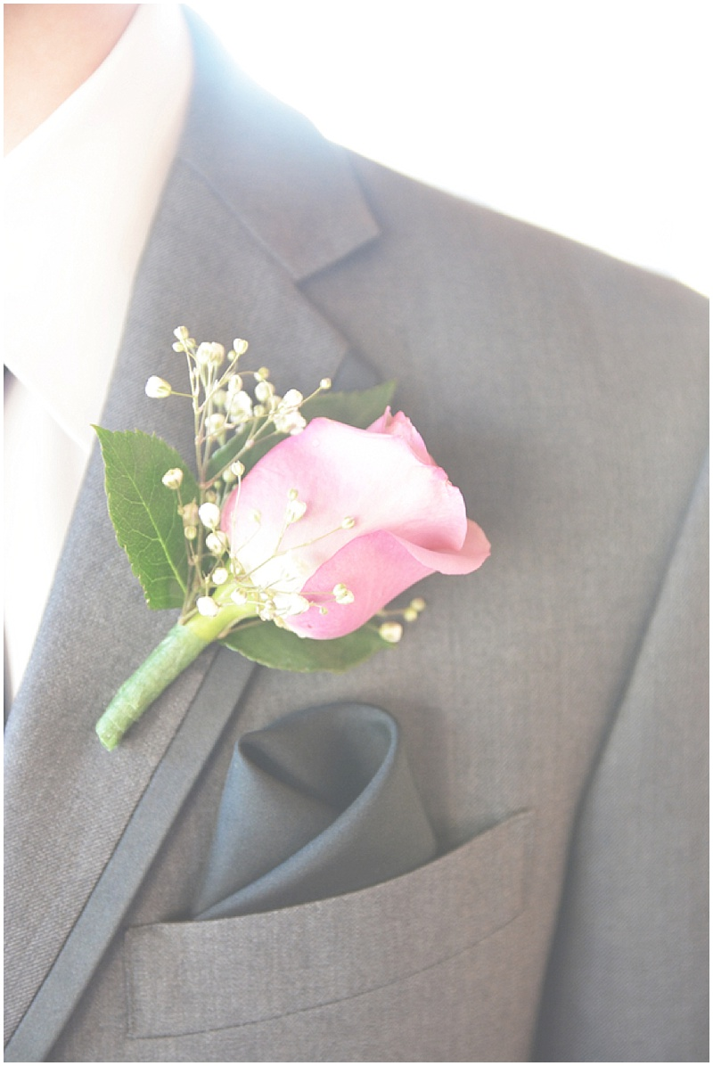 gray groom suit
