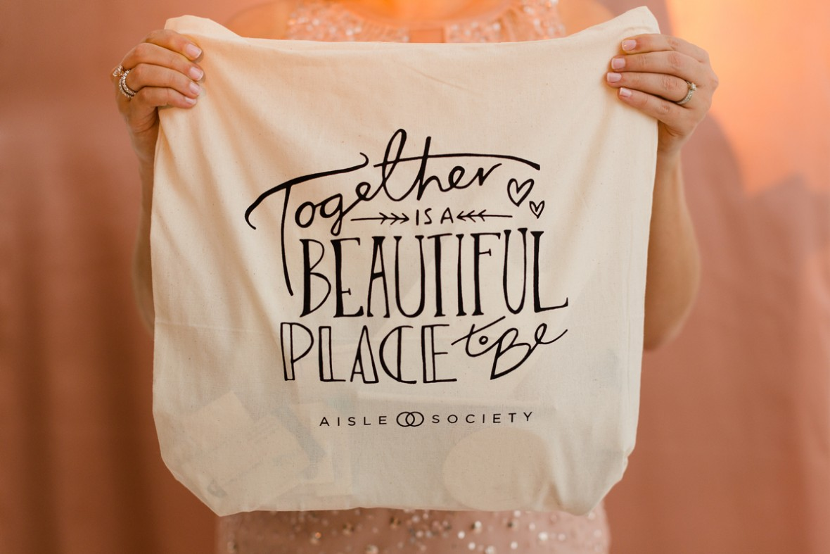 Party Tote Bag - Aisle Society Debut Party - Sponsored by Minted
