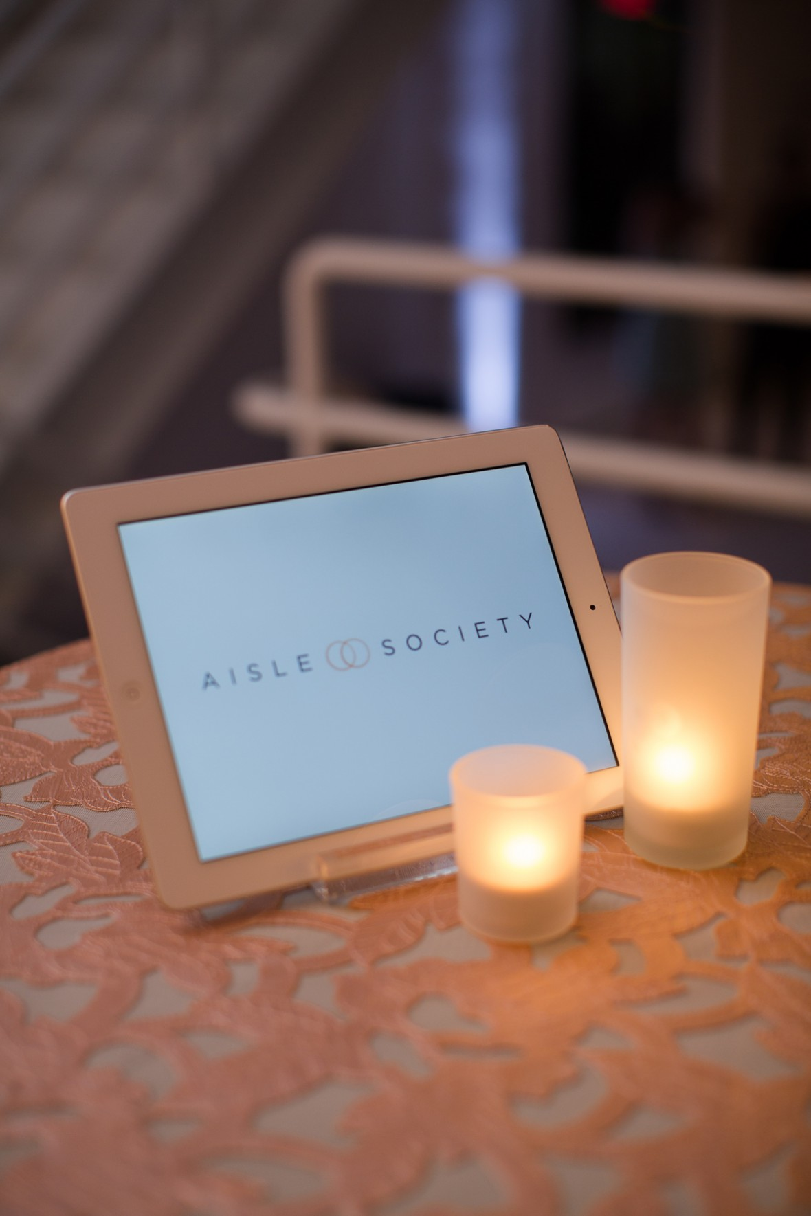 iPad Slideshow - Aisle Society Debut Party - Sponsored by Minted