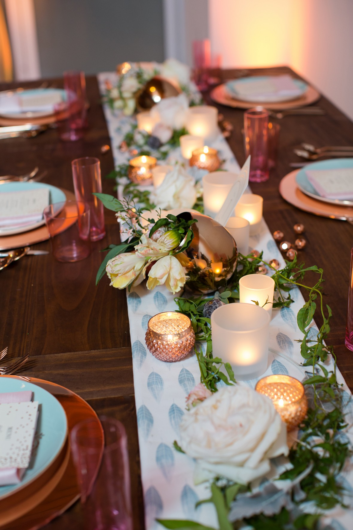 Minted table styling Aisle Society Debut Party - Sponsored by Minted