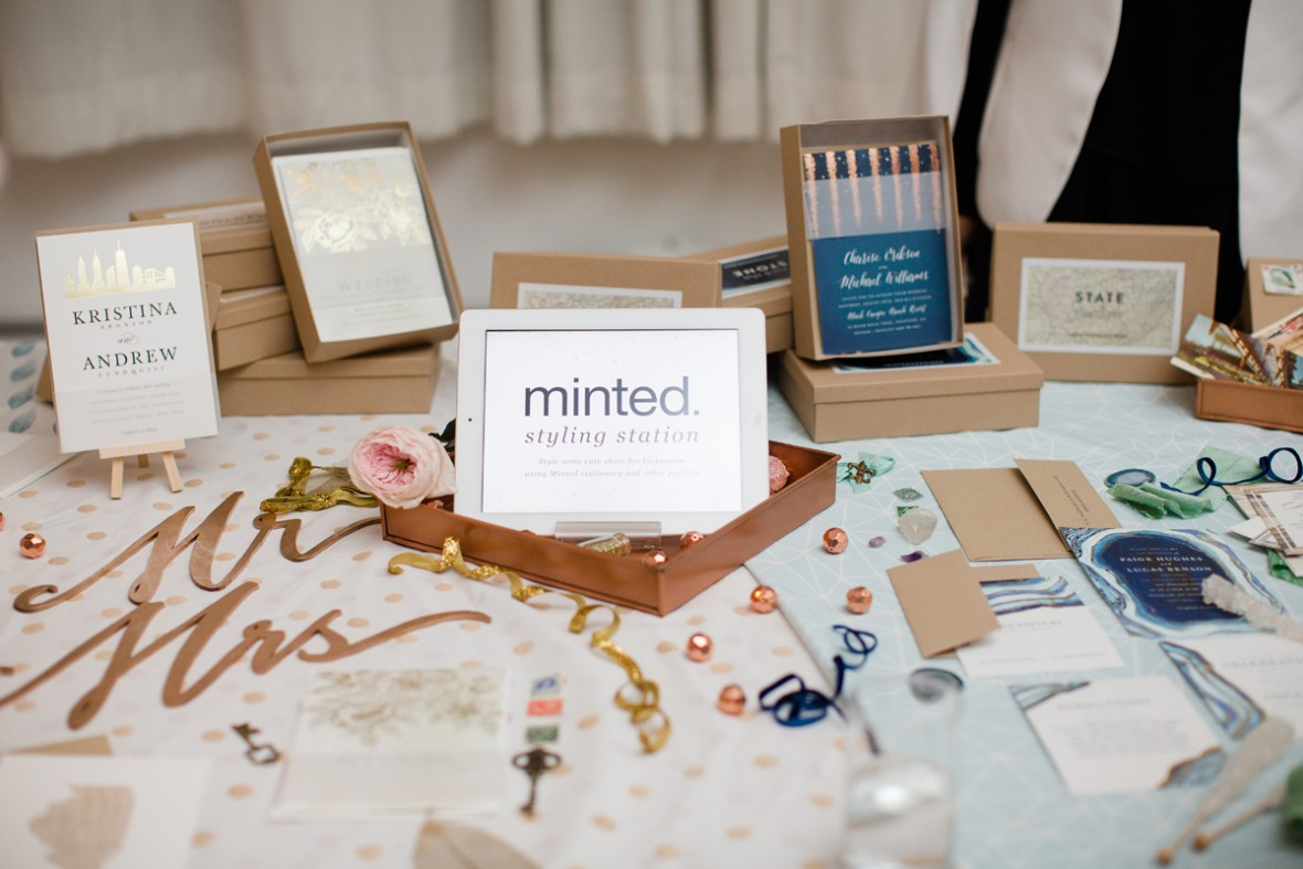 Minted Styling Station - Aisle Society Debut Party - Sponsored by Minted