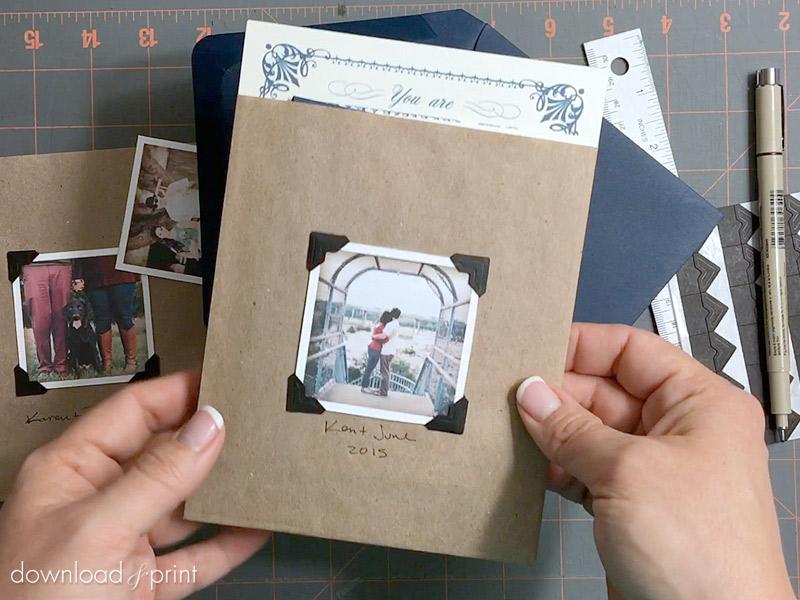 Photo Album Pocket