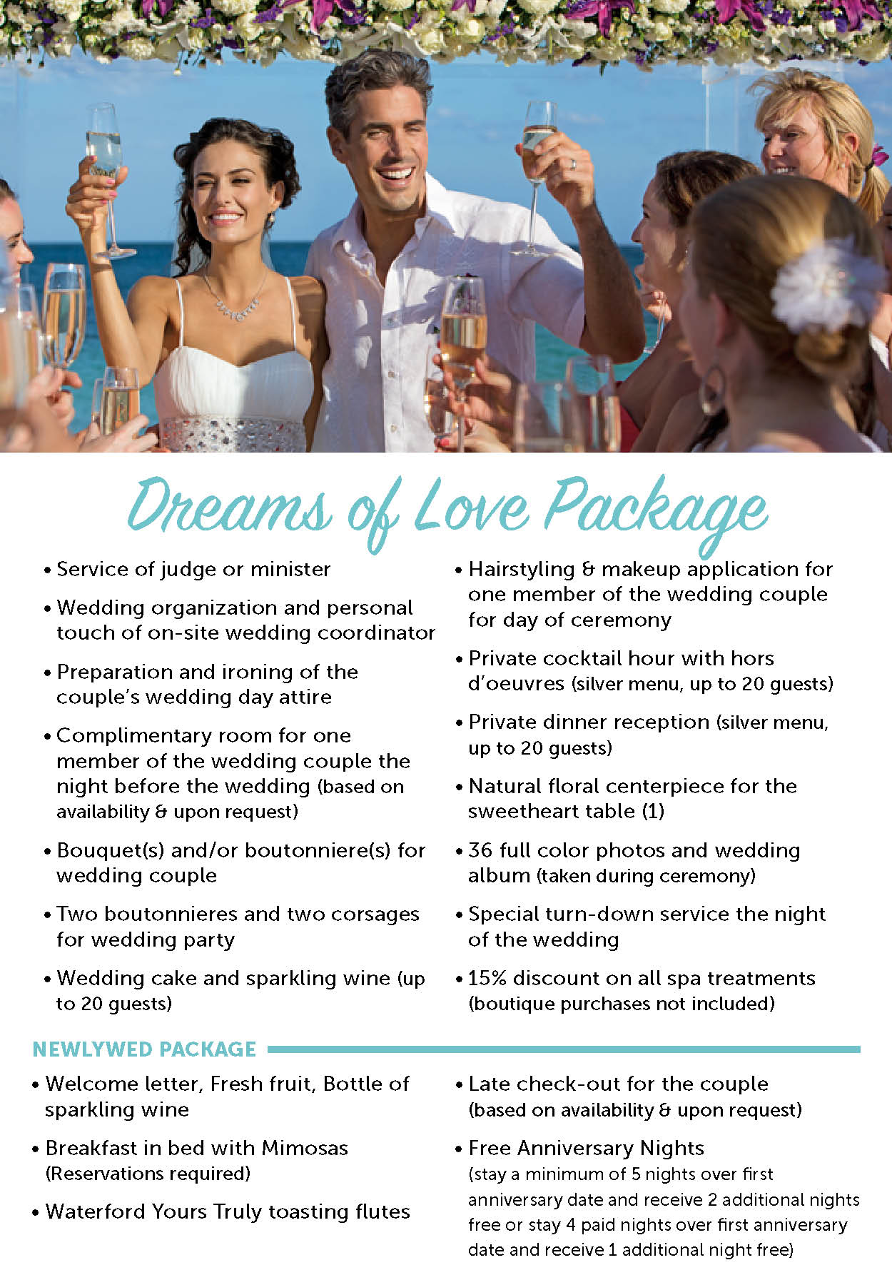 apple vacations dreams resorts packages