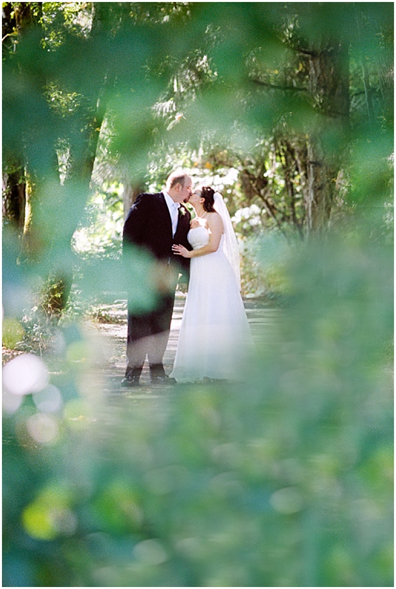 forest wedding photos