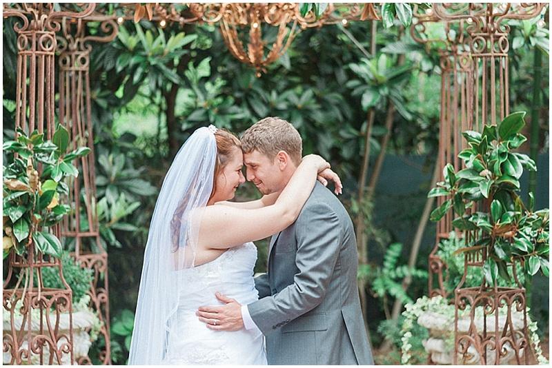 garden wedding photos