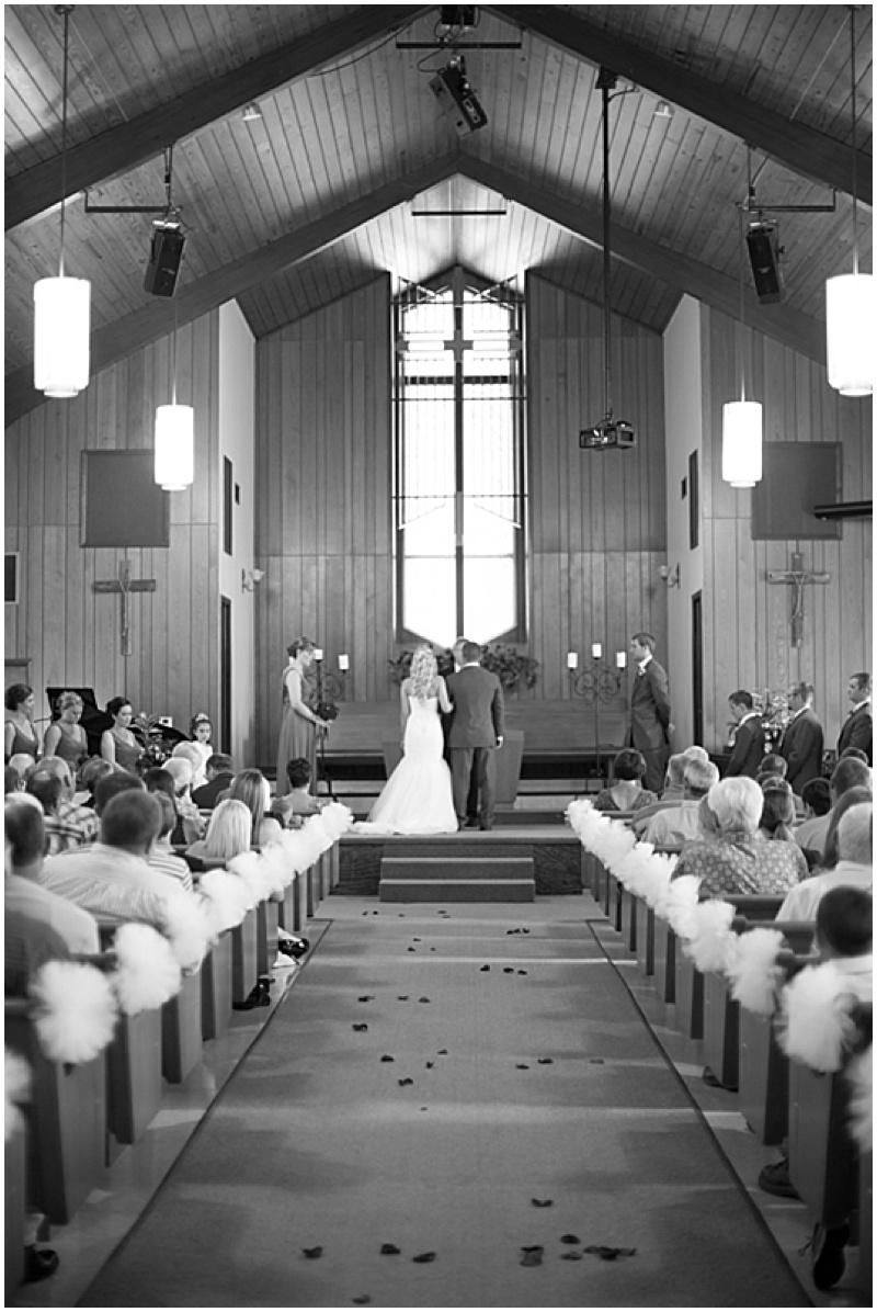church wedding ceremony