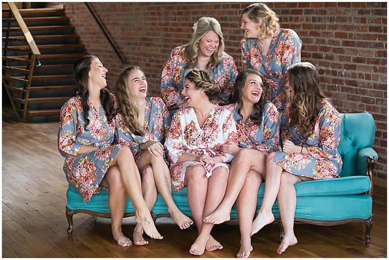 bridesmaid robes photos