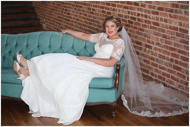 bride settee photo