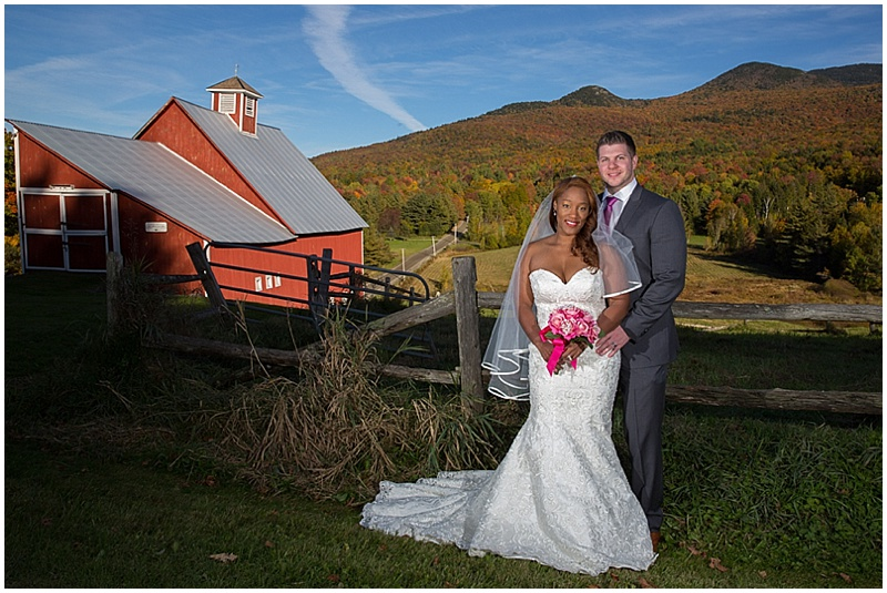 fall outdoor wedding photos