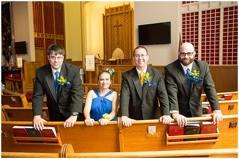 groom attendants