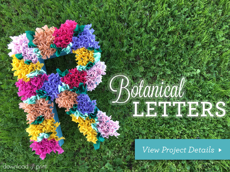 Download-and-Print-Tissue Paper Flower Letters